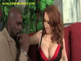 Black Stud Play On And Strip Big Titted Brunette