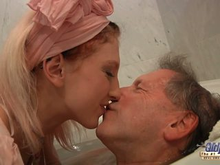 blondes check, hot blowjob rated, old and young new