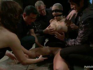 Nika noire has tortured ja tehtud armastus sisse räpane alandamine film