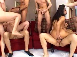 echt orale seks film, deepthroat, plezier dubbele penetratie mov
