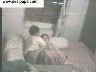Indian pair Secretly Filmed inside Their Bedroom