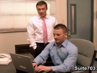 Office Mates Ass Fucking