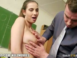 Brazzers - Connie Carter gets fucked in the classroom