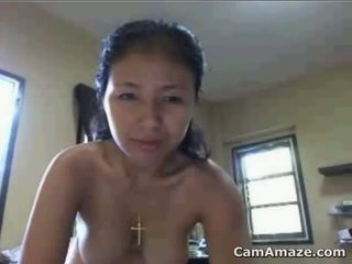 Horny Mature Asian Beauty Being A Tease