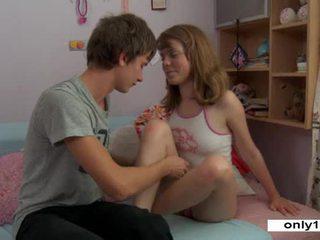 kijken jong film, vibrator, echt orgasme kanaal