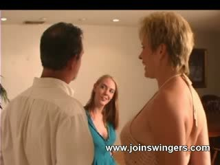 Drilled newbie swinger