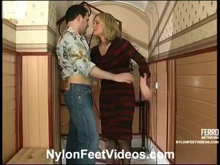 Benett And Monty Nasty Stockings Feet Movie