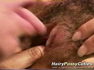 Superb Looking Milf Gets Caught Masturbating Her Hairy Pussy By A Postman And Then Is Getting Fucked By Him