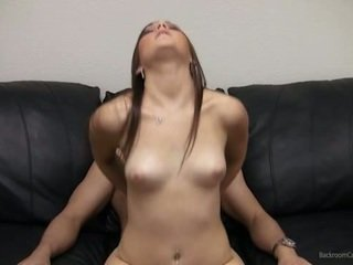 Kaylie showing pussy and fucking on camera