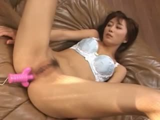 Leather Couch And Real Chinese Slut
