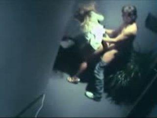 Caught Having Sex On Security Cam