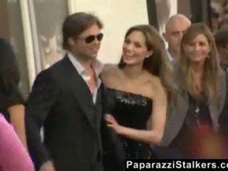 Angelina jolie sur la salt rouge carpet