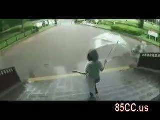 Innocent Schoolgirl Blowjob In Car