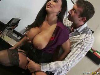 gratis brunette, een hardcore sex klem, mooie tieten video-