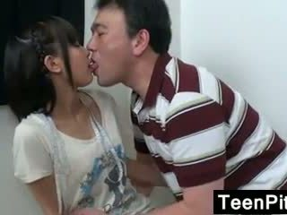 Asian Teen Gets Toyed With