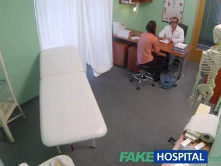 FakeHospital Doctor seduces young wife while giving her examination
