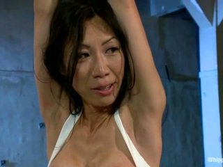 Busty Asian Tia Ling Has Abused By Maitresse Madeline