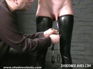 hq caning, masked, hq slavegirl