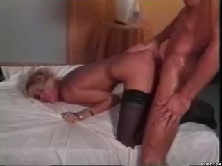 Horny granny seduces doll nice stud