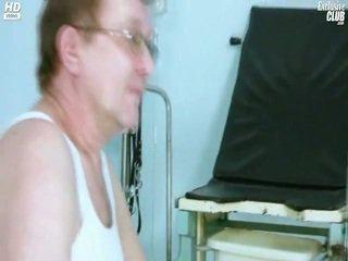 Candie visiting dia gyno dokter untuk cinta hole alat yang dimasukkan gyno ujian