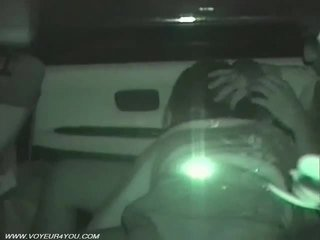 Achterbank auto seks voyeurism