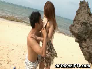 Arisa Kuroki Naughty asian Babe is big Titty