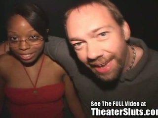 19yo Slut Sucks N Fucks in Porn Theater!