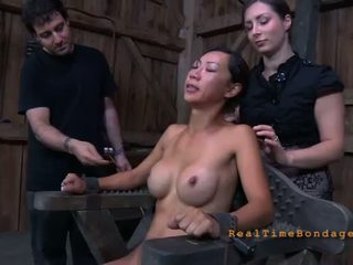 Titty torture for naughty chick