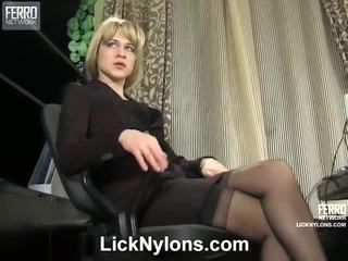 Joanna And Grace Pantyhose Lesbo Film Performance