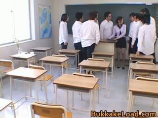 कॉलेज स्कूल टीचर rei shina loves