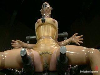 slavernij vid, heetste bondage sex film, plezier vastgebonden-up klem