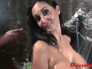 fun brunette most, blowjob nice, most cumshot free
