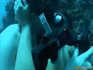 Sabine mallory नीचे पानी बकवास और semen शॉट