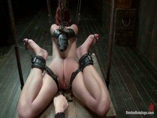 slavernij porno, ideaal bondage sex porno, vastgebonden-up