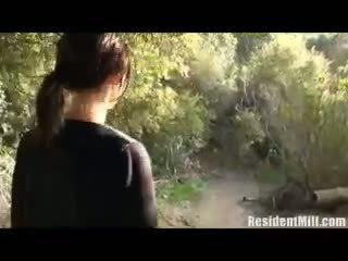 Fukanje milf v the woods