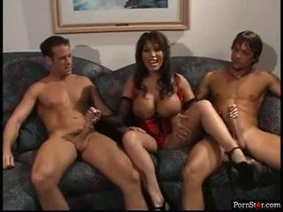 veľké prsia plný, nový trojka, väčšina pornohviezdami