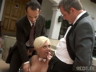 Victoria Spencer double penetrated with two dicks