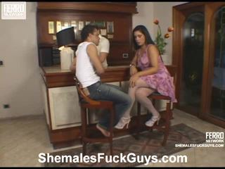 Scenes Of Aline, Carla, Senna By Shemales Fuck Guys