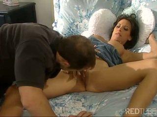 Licking Lezley Zens pierced pussy