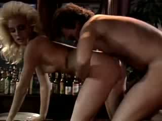 70s porn shows Crazy love making scene in the bar