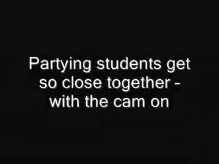 Mix Of Clips From Student Sex Parties