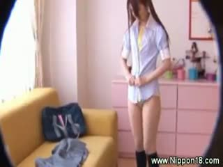 fun brunette free, ideal japanese rated, hot uniform more