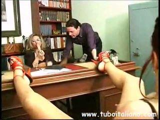 лесбийка, amatoriale, италиански
