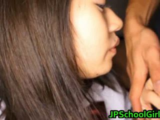 Group Of Japanese Schoolgirls Get Sex Lesson