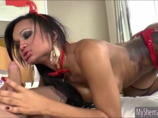 Shemale devil andressa lyra anale pounded