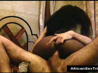 Thick ass ebony whore fucks Video