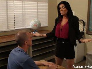 Big Titted Instructor Romi Rain Having Fucking Onto Erotic America