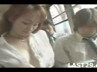 Bus Seduction In Japan