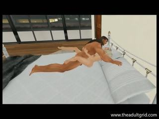 3D animated Virtual lovers