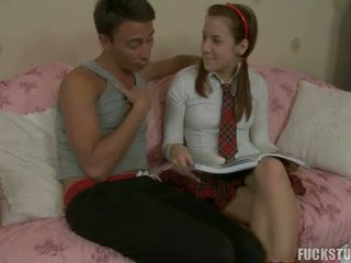 Hot Legal Age Teenager Trainer Anal Screwed